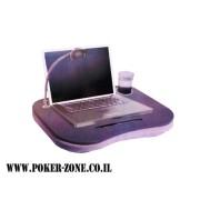 משטח עם כרית למחשב נייד