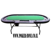 שולחן פוקר פלטינום 2.40 עם קופת גניה
