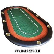 שולחן פוקר טופ מקצועי טורנדו